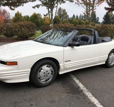 At $8,495, Will This 1992 Oldsmobile Cutlass Convertible Prove A Supreme Deal?