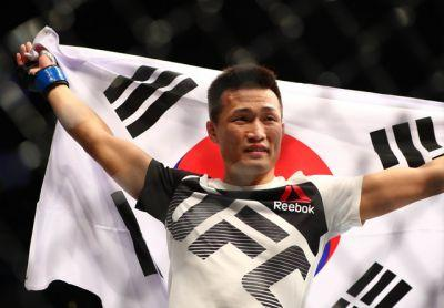 'Korean Zombie' looks right at home back in the UFC octagon after three years