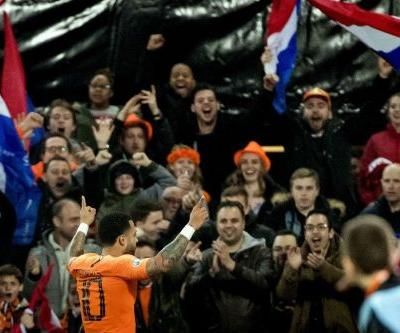 Depay fires Dutch past Belarus in Euro 2020 qualifying opener