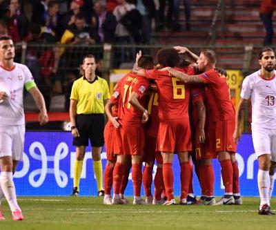 Lukaku leads Belgium past Switzerland with a brace