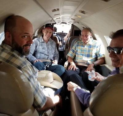 Oregon Ranchers Pardoned by Trump Get Ride Home on Private Jet Owned by Mike Pence Ally