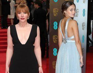 BAFTAs 2017: Super Plunge Vs. Back Details