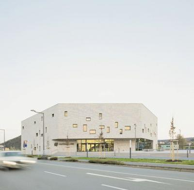 Civic Center in Lohr am Main / Bez+Kock Architekten