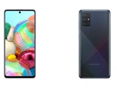 Samsung Galaxy A71 goes official giving us a minor taste of the S11 design