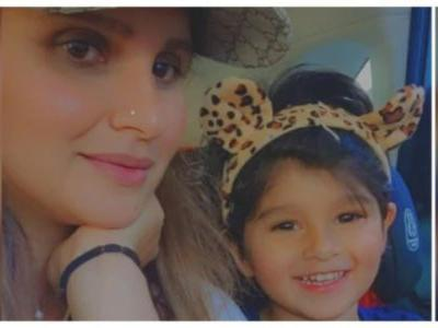Sania Mirza's new pic with son Izhaan is just so adorable. Don't miss it