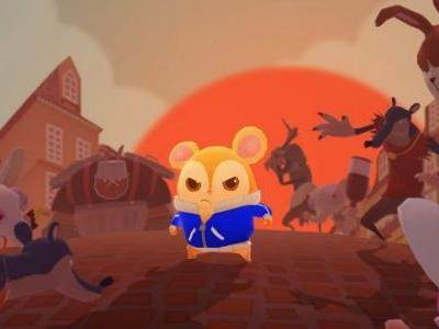 Hamster-Fu Takes on an Evil Chinchilla Mafia in Hamsterdam