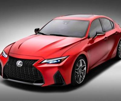 Lexus Shoves A 5.0-Liter V8 Into The IS To Create The IS500 F Sport