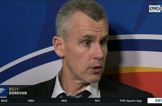 Billy Donovan on loss to LA Clippers: Thunder fall to Clippers 108-92   Thunder Live