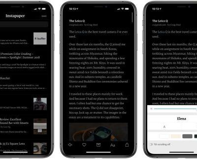 Instapaper 7.7 for iOS Introduces True Black Theme, iPad Pro and Smart Keyboard Support