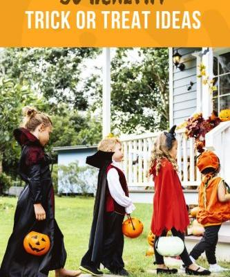50 Healthy Trick Or Treat Ideas