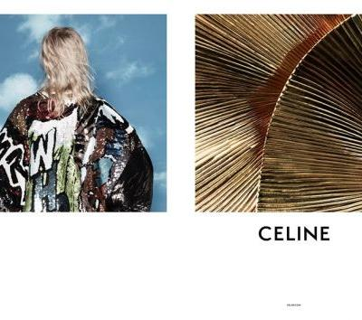 Celine's womenswear campaign is here