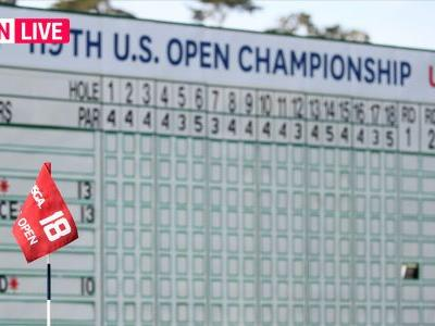 U.S. Open leaderboard 2019: Live golf scores, results from Thursday's Round 1