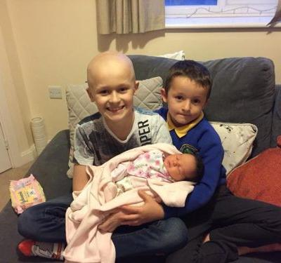 9-Year-Old Boy With Cancer Fought Long Enough to Meet His Baby Sister Before Passing