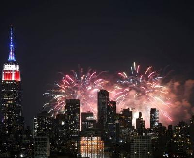 Airlines saw a spike in passenger volume for the July 4th holiday weekend, but the numbers are still dismal for the industry