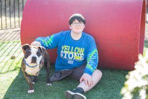 A Young Cancer Survivor & Amputee Finds A BFF In A 3-Legged Rescue Dog