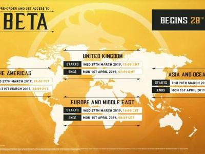 NetherRealm Studios announces the dates and times for when the Mortal Kombat 11 beta will go live