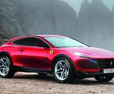 Ferrari Purosangue SUV Due in 2022 With V6 and V12 Plug-in Hybrid Versions