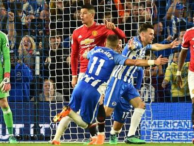 Man Utd make unwanted history with Brighton defeat