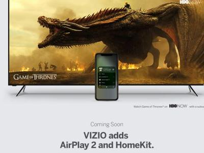 Vizio begins opening SmartCast 3.0 TV beta with AirPlay 2 and HomeKit support