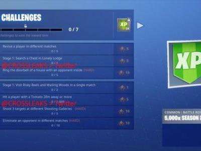 Fornite Season 6 Week 3 challenges - How to earn XP and Battle Stars
