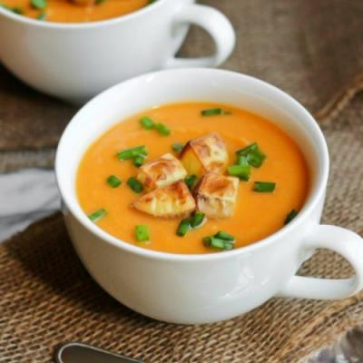 Vegan Creamy Sweet Potato Soup