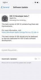Apple Seeds iOS 12 Beta 7 to Developers