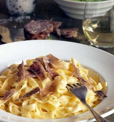 Recipe: Fresh pasta with truffle