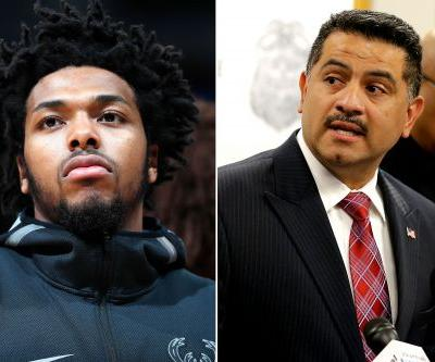 Police apologize to NBA player as arrest footage causes uproar
