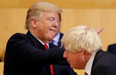 Trump says 'talented guy' Boris Johnson would be a 'great' UK Prime Minister