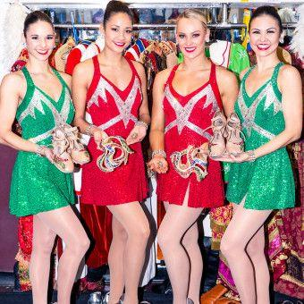 Getting Ready with the Radio City Rockettes