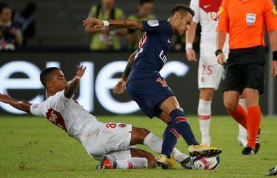 Neymar returns as PSG breeze past Monaco in French Super Cup