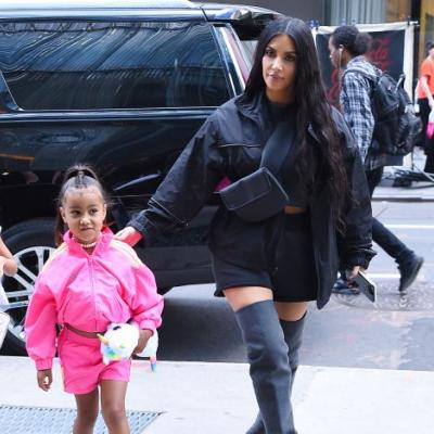 Kim Kardashian's TikTok With North Is An Adorable Glimpse Into Her Private TikTok Account