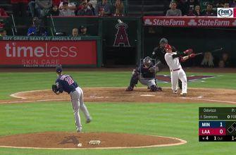 HIGHLIGHTS: The Angels get banged up and drop to the Twins, 3-1