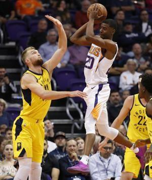 Bogdanovic's 3 helps Pacers escape with win in Phoenix