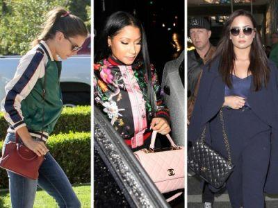 Celebs Pair Bags from Gucci, Chanel and Roger Vivier with Their Red Carpet Best