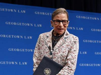 Supreme Court Justice Ginsburg, 85, hospitalized after fracturing 3 ribs in fall