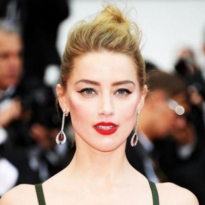 The $10 Red Liquid Lipstick Amber Heard Wore at the Cannes Film Festival