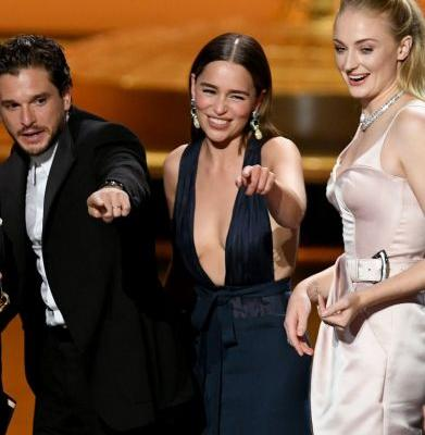 No One Had More Fun At The Emmys Than The Game Of Thrones Cast