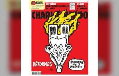 'No deaths - no irony?' French satirical mag 'hypocritical' for cartoon on Notre Dame fire