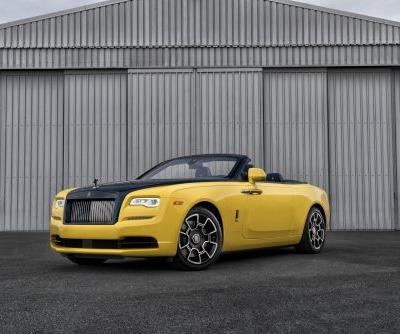 Check out the flashy, custom Rolls-Royce Dawn that was just delivered to a Google executive