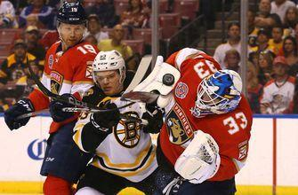 Panthers fall 7-3 at home as Bruins clinch playoff berth