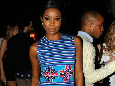Great Outfits in Fashion History: Gabrielle Union in Vintage Lanvin at Art Basel in 2011
