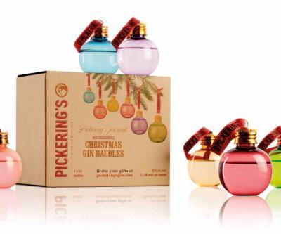 If You Want to Get Lit, Decorate Your Tree With Pickering's Gin Baubles, Now Available in the US