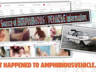 The Best Online Amphibious Vehicle Resource Is Now Somehow A Porn Site