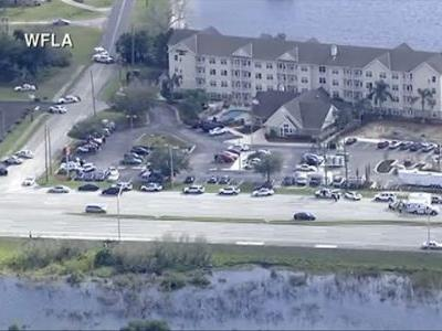 Authorities report 'several down' in Florida bank robbery