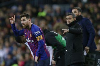 Messi left out of starting lineup against Real Madrid