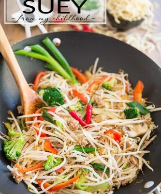 Chop Suey - Just like my mom used to make!