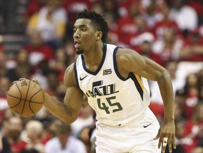 Donovan Mitchell threw down a vicious putback dunk in Game 2 win
