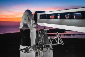 SpaceX Crew Dragon Capsule Destroyed by Explosion During Ground Test