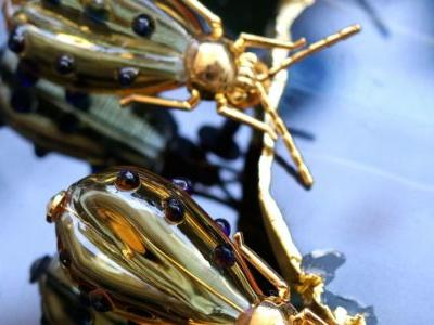 Aadikara's beautiful glass pieces are a jewellery lover's delight